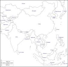 Map Of Asia Blank by South And East Asia Free Map Free Blank Map Free Outline Map