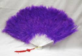 feather fans hat high society feather fans purple pink ebay