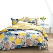 Grey And Yellow Duvet Bedding Design Bedding Yellow Pink Kanon Yellow Duvet Cover