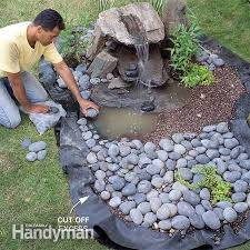 Rock Garden With Water Feature How To Build A Low Maintenance Water Feature Water Features