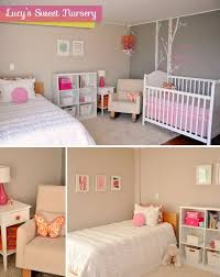 Best Shared Baby Room Images On Pinterest Nursery Ideas - Baby girl bedroom ideas decorating