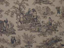 decorating beautiful drapery and upholstery toile fabric idea