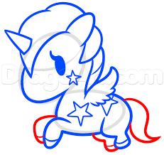 draw kitty unicorn step step concept art