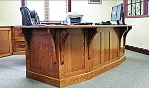 Office Desks Oak Made Mission Style White Oak Office Furniture By The