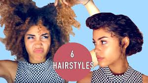 wash and go hairstyles 6 hairstyle ideas for old wash and go naturalproblems youtube