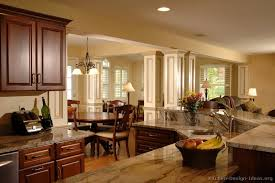 images of kitchen interiors pictures of kitchens traditional wood kitchens cherry color