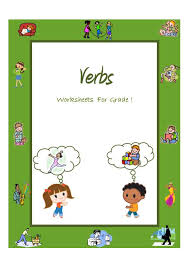 verbs action words worksheets for grade 1 and 2 teacherlingo com