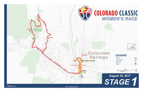 Mesa College Map 2017 Colorado Classic Stage 1