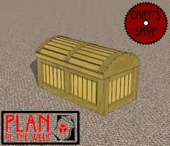 Wood Plans Toy Box by Pirates Chest