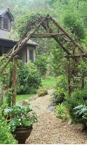 Trellis Arches Garden Archway And Path Using Inexpensive Garden Arches Found Everywhere
