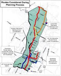 Metro Rail Houston Map by Long Saga Of Guadalupe Lamar Light Rail Planning Told In Maps