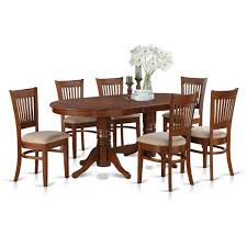 dining room set with leaves delano 7 piece dining room set w leaf piece 76x40 oval dining room set w leaf and 8 chairs on sale online
