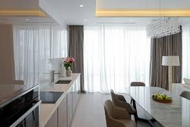 modern kitchen curtain ideas bright sheer curtain in the spacious kitchen with curtain