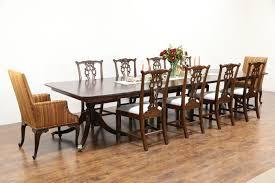 antique mahogany dining room furniture georgian design 1860 antique mahogany dining table 7 leaves
