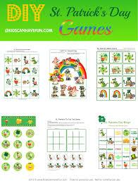 st patrick u0027s day activities archives kidscanhavefun blog