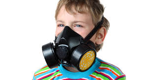Halloween Gas Mask Costume Halloween Gas Mask Tests Positive Asbestos