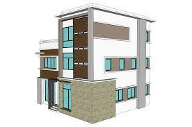 home construction design 3 storey town house office nkd