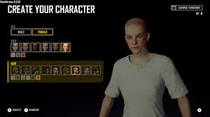 pubg your client version is pubg create your character female nine hair six color preset
