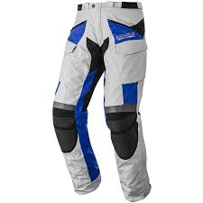 motorbike trousers calama drystar ice white grey blue pants trousers waterproof