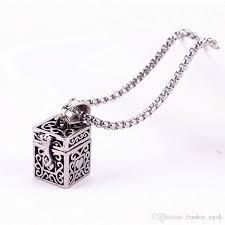 ashes necklace holder wholesale ashes magic box pendant urn keepsake vintage necklace