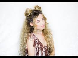 cute hairstyles with curly hair cute hairstyle for curly hair youtube