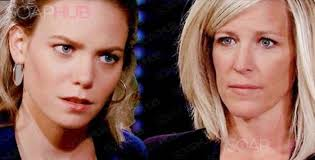carlys haircut on general hospital show picture let it go let it go does carly need to quit her nelle obsession