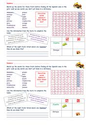 adjectives in spanish worksheets 18 spanish adjectives worksheets