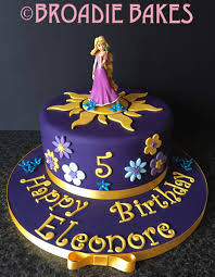 tangled birthday cake children s birthday cakes broadie bakes