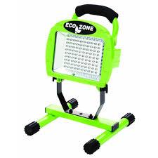 Portable Garage Home Depot Designers Edge 108 Led 7 4 Volt Rechargeable Portable Work Light