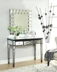 Mirror And Table For Foyer Mirror Table Decor Console Tables Foyer Decorating Ideas Small