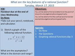 i can graph a rational function ppt video online download