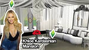 the sims 3 khloe kardashian mansion youtube