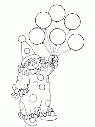 clowns coloring pages aecost net aecost net
