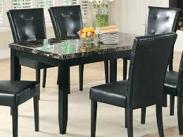 black marble dining table set coaster dining table black marble top at coaster dining table black