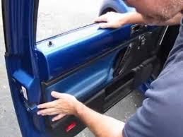2000 Vw Beetle Interior Door Handle Reinstalling Your New Beetle Interior Door Panel Youtube