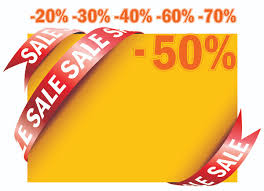 ribbon for sale sale ribbon card vector free vector 4vector