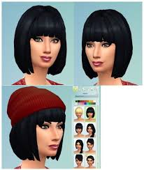 child bob haircut sims 4 266 best sims 4 hair m f diverse undecided images on pinterest