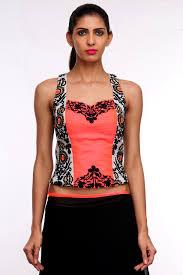 corset blouse buy ramola corset blouse by indian designer sagrika