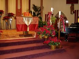 Church Stage Christmas Decorations Christmas Decoration Ideas For Church Rainforest Islands Ferry