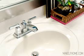 How To Remove Bathroom Faucet by Removing And Installing Bathroom Faucets The Lazy Way Makely