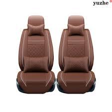 livraison gratuite 2 pcs siège de voiture en cuir couvre pour