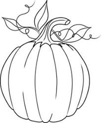 coloring page of a pumpkin coloring pages pinterest october