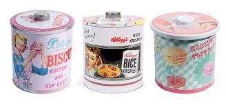 boite metal cuisine pour la cuisine des accessoires et de la vaisselle vintage