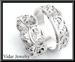 wedding ring sets his and hers white gold home improvement his and hers wedding rings white gold summer