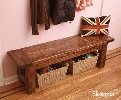 furniture storage bench entryway wooden bench with storage