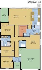 carlisle homes floor plans carlisle flex in floor plan hanover family builders
