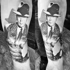 50 gangster tattoos for men mobster design ideas
