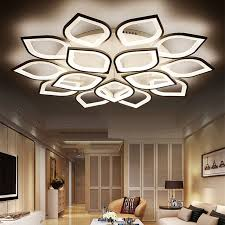 Acrylic Ceiling Light New Acrylic Modern Led Ceiling Lights For Living Room Bedroom