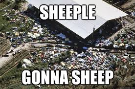 Sheeple Meme - sheeple gonna sheep religious sheeple quickmeme