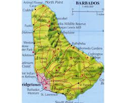 North America Forest Map by Maps Of Barbados Detailed Map Of Barbados In English Tourist